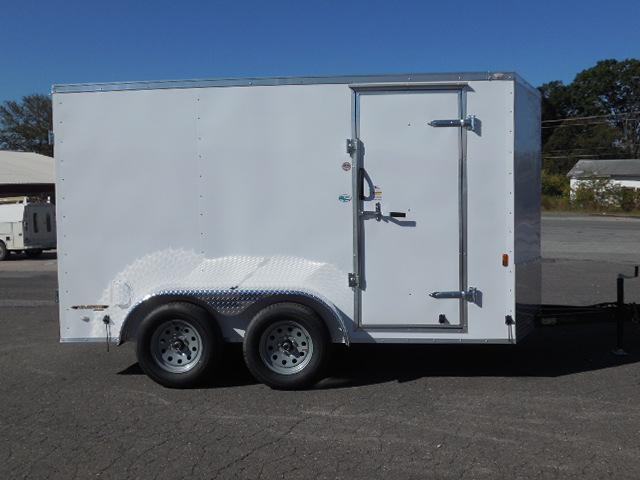 2017 Continental Cargo BP 7 x 12 Enclosed Cargo Trailer