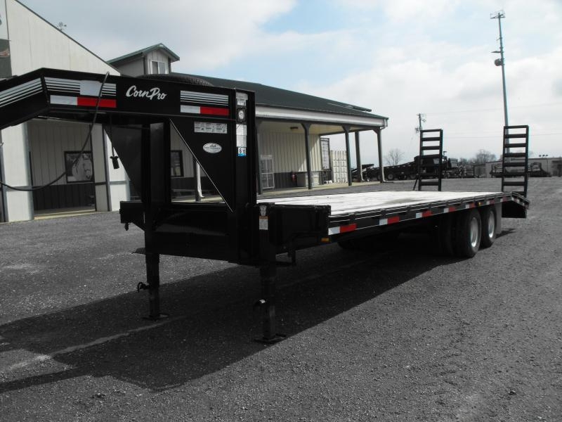 Clearance CornPro Trailers GN 24' Flatbed Trailer