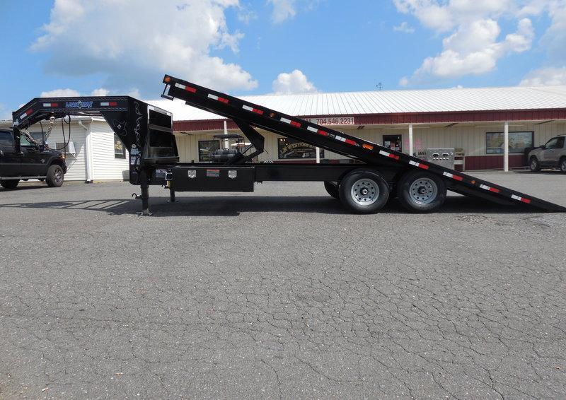 2017 Load Trail GN 102 x 22 Tilt Deck Equipment Trailer