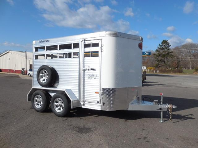 2017 Sundowner Trailers BP 12' Stockman Express Horse Trailer