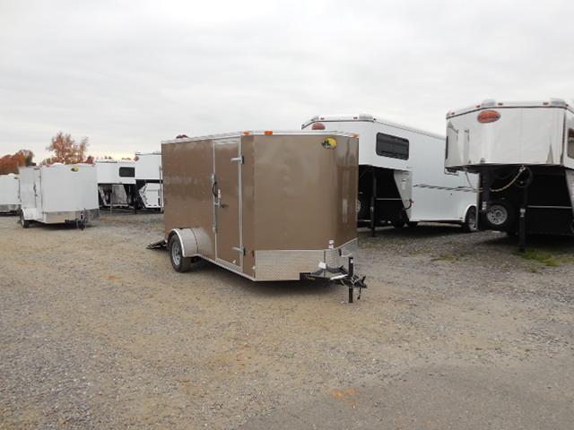 2015 Continental Trailers BP 6 x 12 Cargo / Enclosed Trailer