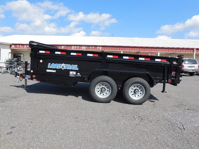 2015 Load Trail 83 x 14 TA Dump Dump Trailer