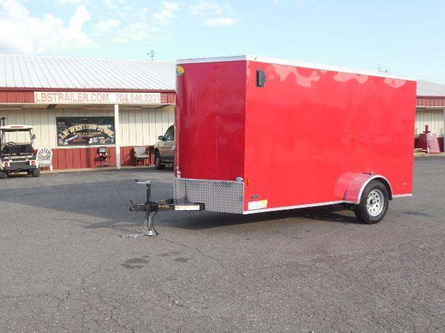 2016 Continental Cargo BP 6 x 12 Enclosed Cargo Trailer