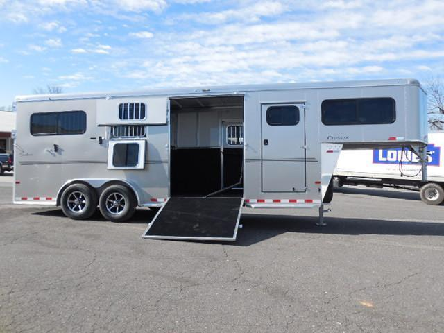 2016 Sundowner Trailers GN 2 + 1 with Dress Horse Trailer