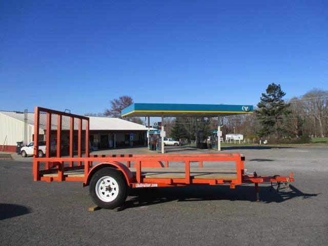 2013 Halt BP 77 x 12 Utility Trailer