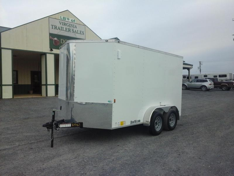 2018 Forest River Inc. 7x12 TA Continental Enclosed Cargo Trailer