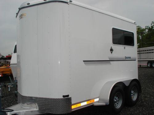 2008 Shadow Trailers BP 2H Straight Load Horse Trailer
