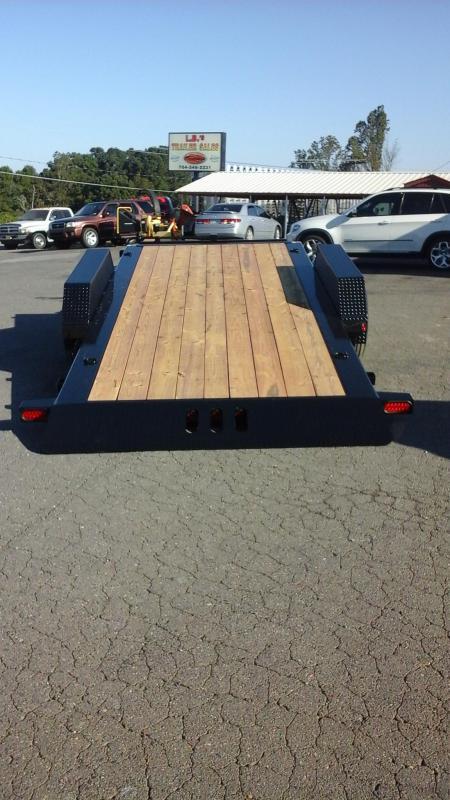 2018 Load Trail BP 83 x 22 Tilt Deck Equipment Trailer