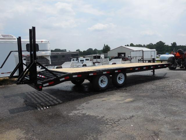 2015 PJ Trailers BP 24' Deckover Equipment Trailers