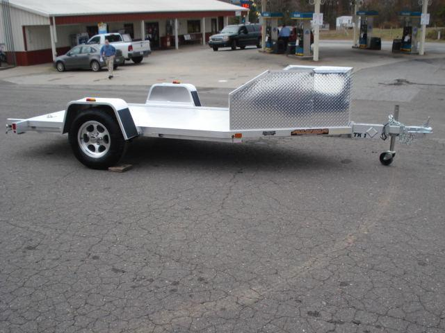 2014 Aluma TK1 Motorcycle Trailer