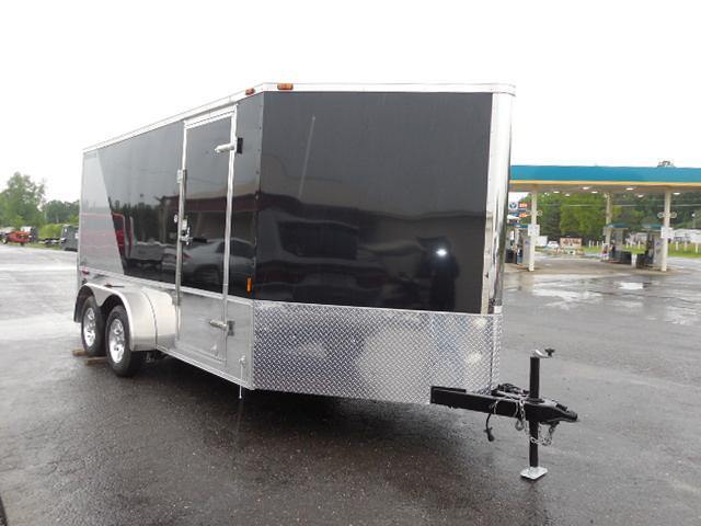 2016 Continental Cargo 7 x 14 TA Enclosed Cargo Trailer