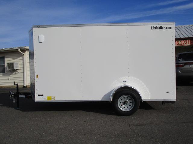 2018 Continental Cargo BP 6 x 12 Enclosed Cargo Trailer