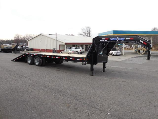 2017 Load Trail GN 102 x 28 low Pro Hyd Dove Equipment Trailer