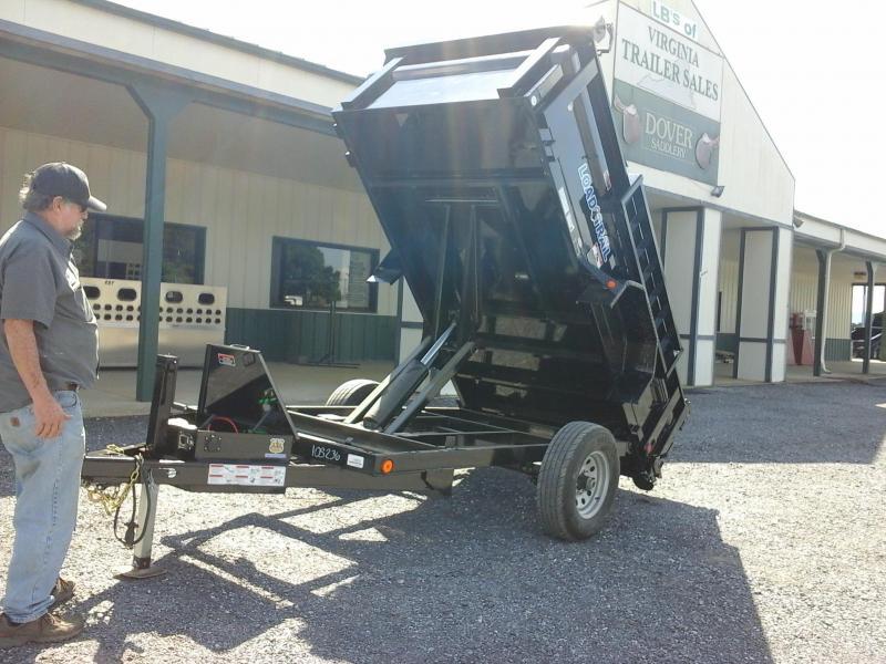 "2017 Load Trail 60"" X 10' Single Axle Dump Trailer"