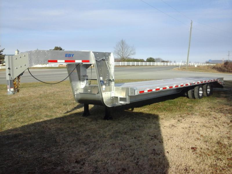 2018 Eby Trailers 25+5 Dual Tandem Equipment Trailer
