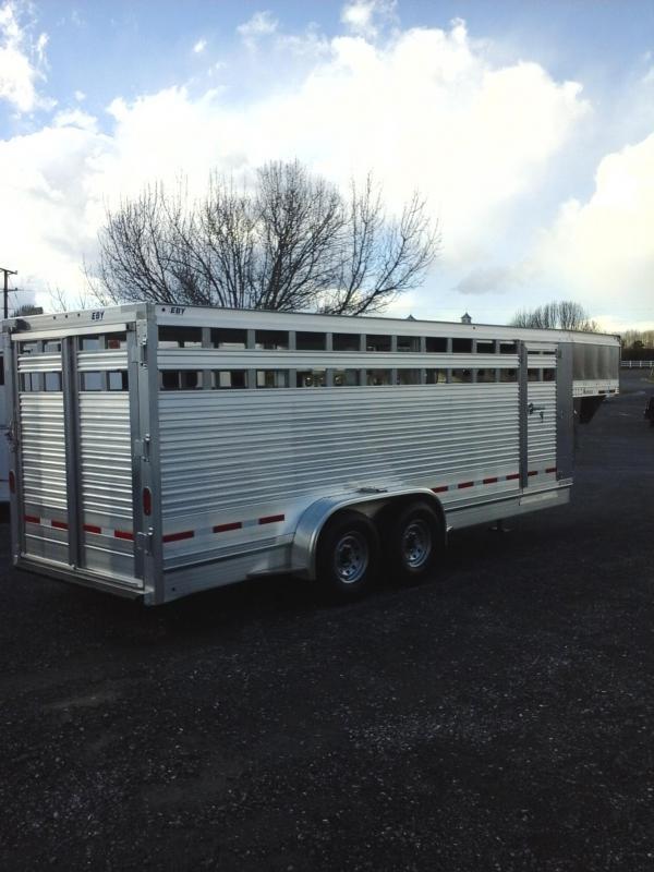 2017 Eby Trailers Maverick Livestock Trailer