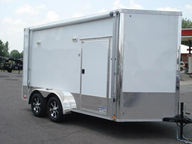 2011 United Trailers BP 7 x 14 Motorcycle Trailer