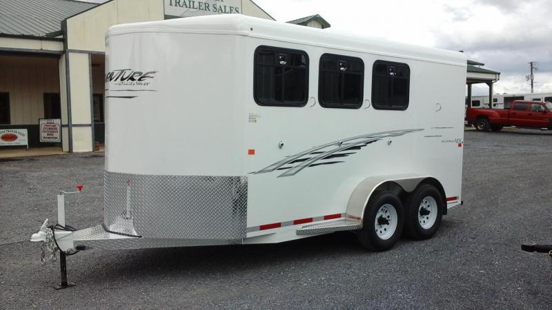 2017 Trails West Adventure MX ll 3H BP Horse Trailer