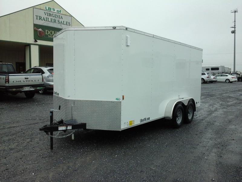 2018 Forest River Inc. 7x16 TA Continental Enclosed Cargo Trailer