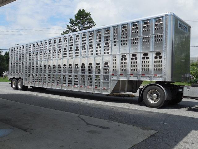 2018 Barrett Trailers KP 102in x 53ft POT Livestock Trailer