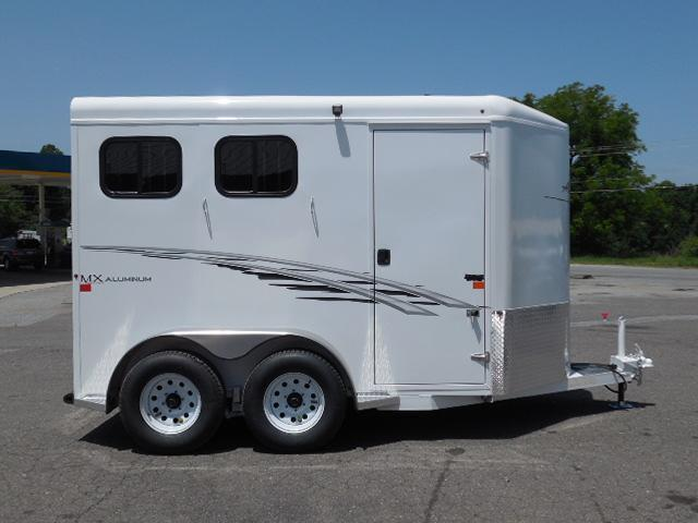 2016 Trails West Manufacturing BP 2H Adventure MX II Horse Trailer