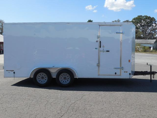 2017 Continental Cargo BP 7 x 16 Enclosed Cargo Trailer