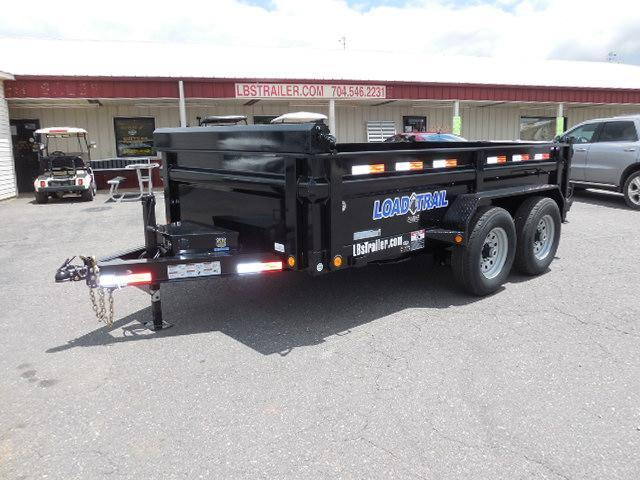 2017 Load Trail BP 83 x 12 Low Pro Dump Trailer