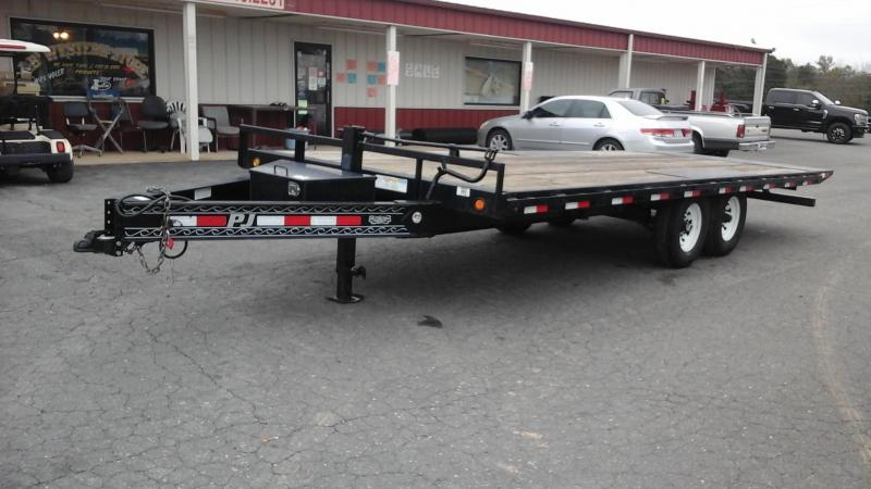 2012 PJ Trailers 22Ft BP Full Tilt Material Handling