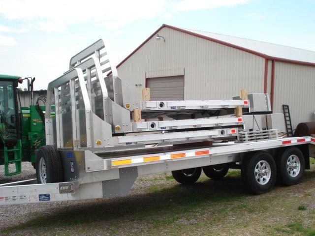 2015 Eby Trailers Eby 8x 6 Bed Equipment Trailer