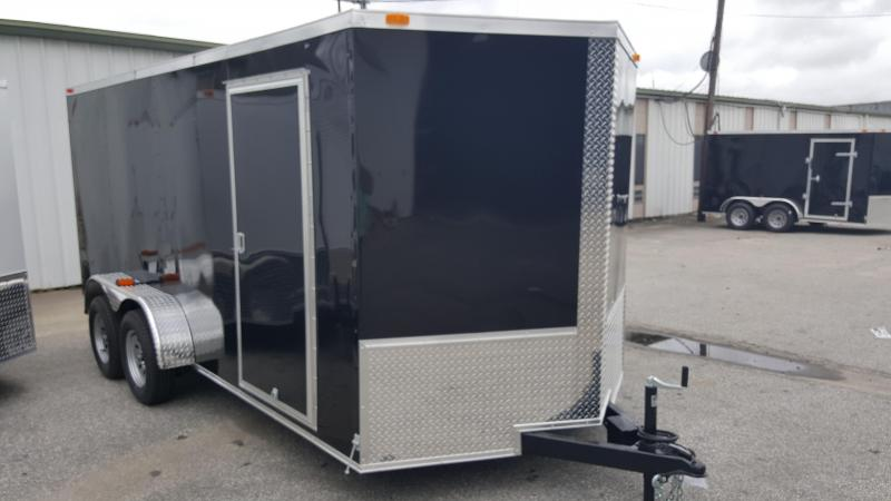 2018 Grizzly Trailers (7' x 16' TA2) Enclosed Cargo Trailer