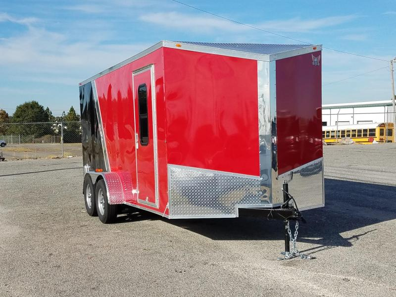 2018 GrizzlyTrailers (7 x 16 TA2) Split Color Spyder Toy Hauler
