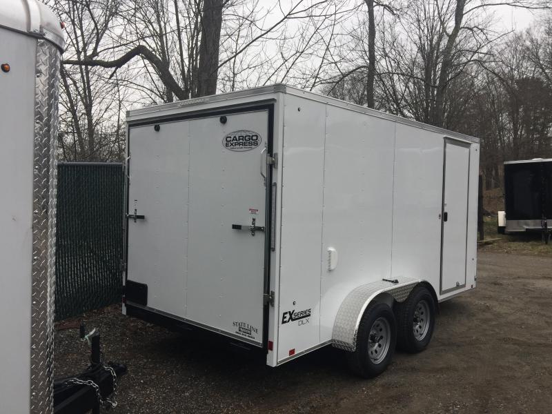 2020 Cargo Express EXDLX7x14 Enclosed Cargo Trailer
