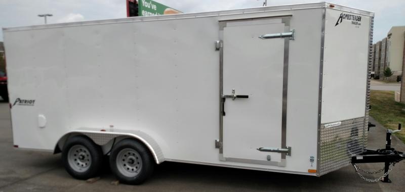 2018 Homesteader Inc. 716PT Enclosed Cargo Trailer
