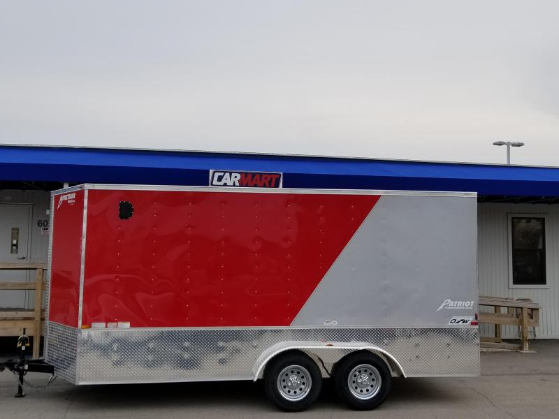 2018 Homesteader Inc. 716PT OHV Enclosed Cargo Trailer