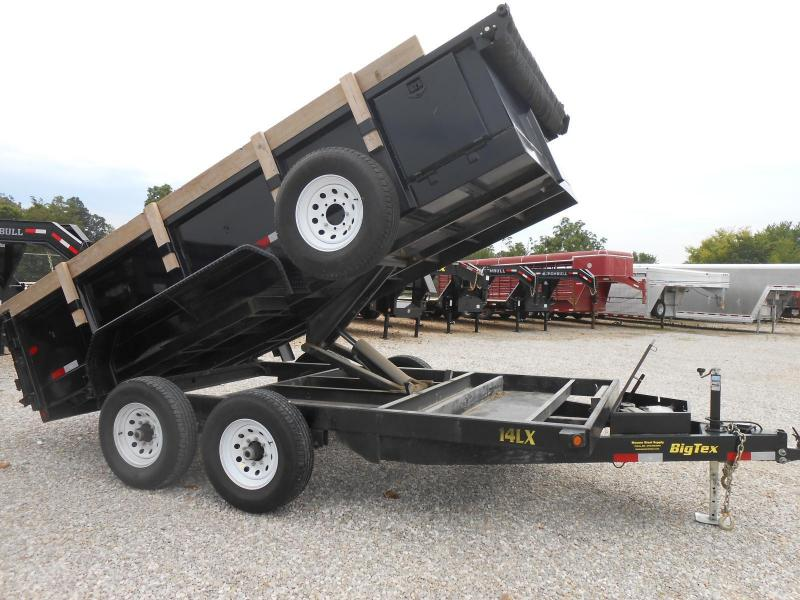 2017 Big Tex Trailers 14LX-14BK7SIRPD Dump Trailer