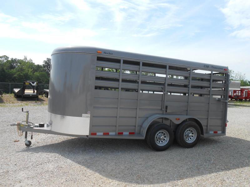 2018 CM 6'8x16 Livestock Trailer