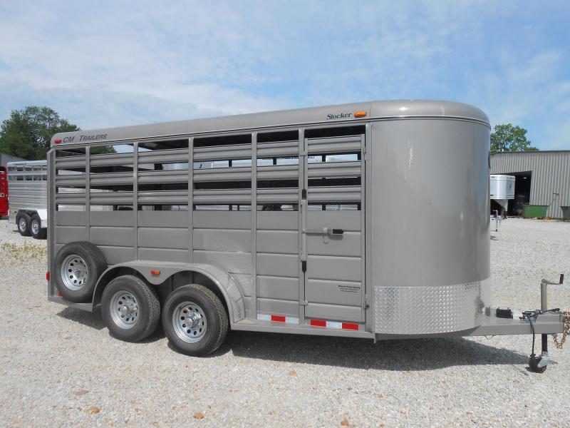 2017 CM 6'8x16 Livestock Trailer