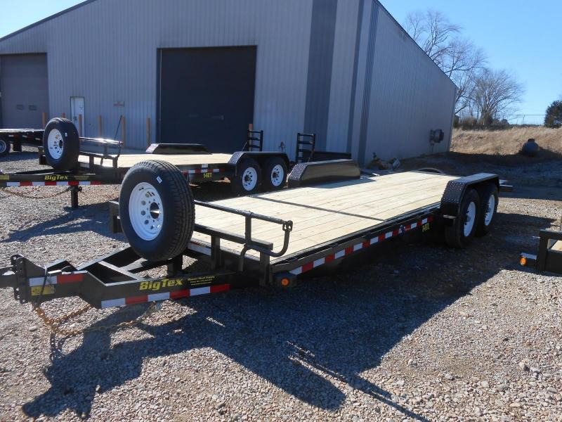 2017 Big Tex Trailers 14TL-22BK Equipment Trailer
