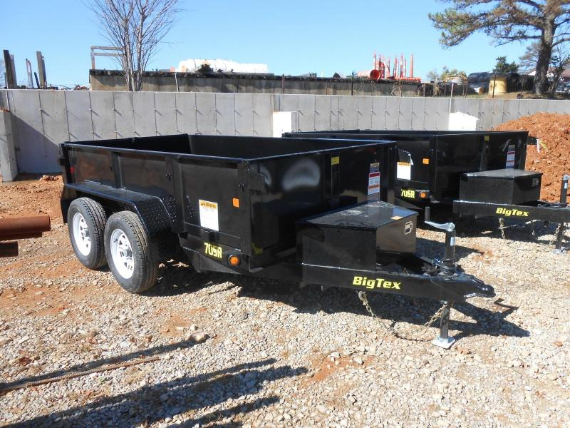 2017 Big Tex Trailers 70SR-10-5WDD Dump Trailer