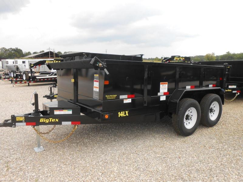 2017 Big Tex Trailers 14LX-12BK7SIRPD Dump Trailer