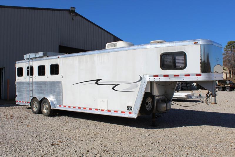 2002 Kiefer Built 4 Horse Trailer