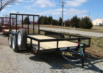 Big Tex 50LA 14' Tandem Trailer