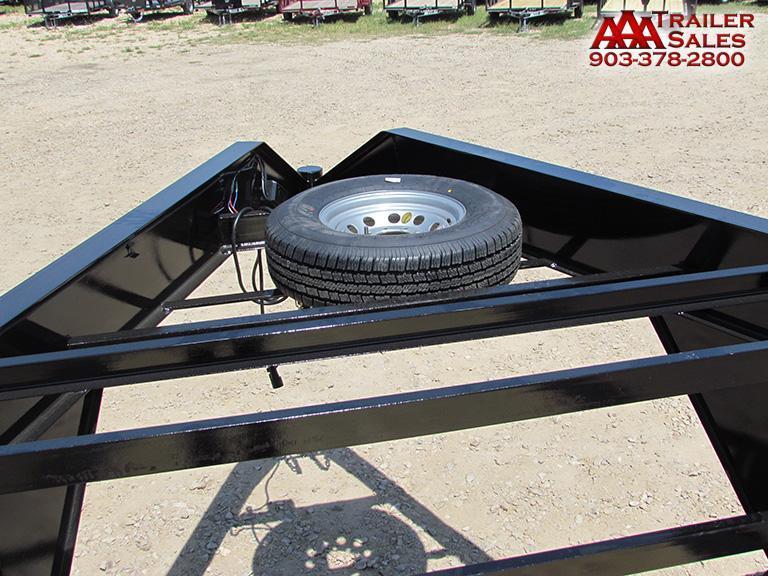 "2018 Gooseneck Car Hauler / Equipment Trailer 102""x24' GVWR 15680"