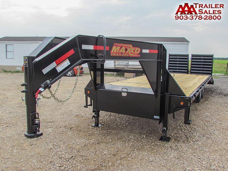 "2018 Gooseneck 102"" x 25' GVWR 14000 lbs"