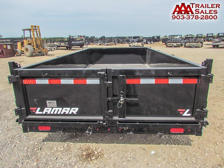 "2018 LAMAR Dump Trailer 83""x14' GVWR 14000"