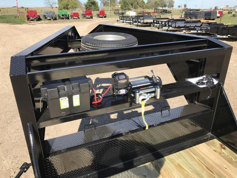 Gooseneck Trailer Winch Pictures To Pin On Pinterest