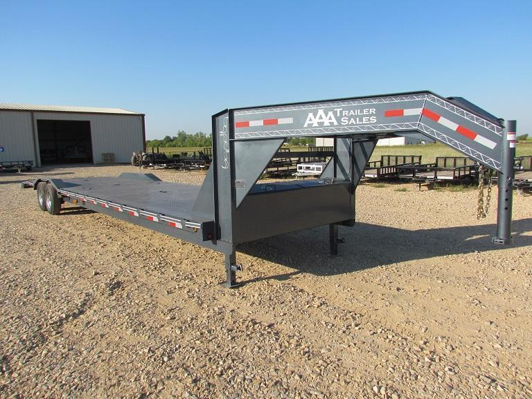 Gooseneck Lowboys Car Haulers Equipment Haulers Aaa Trailer