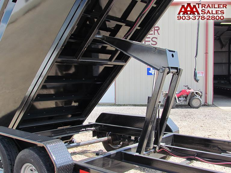 2017 Bumper Pull ROLL OFF DUMP Trailer 83''x14' GVWR 14000