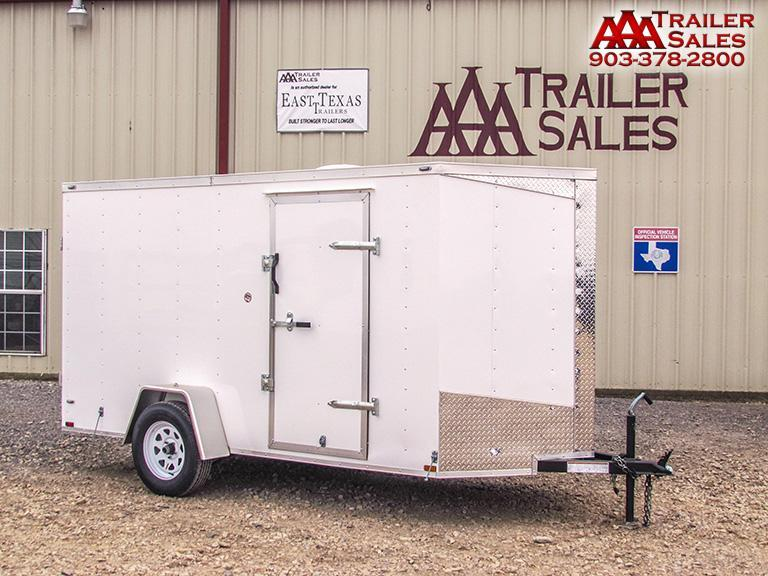 2018 Lark V Nose 6'x12' Enclosed Trailer