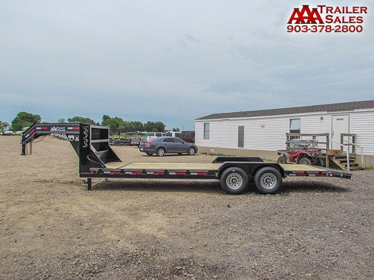"2017 Gooseneck Car Hauler / Equipment Trailer 83""x24' GVWR 15680"